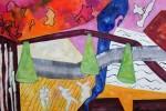 A16 Vielfaeltiges Leben III 2005 Acryl LW 80x120